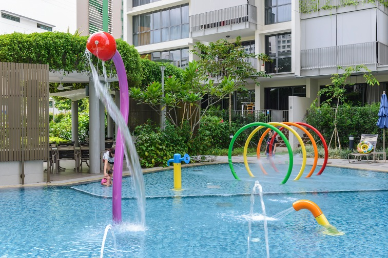Twin Waterfalls Condominium, Singapore