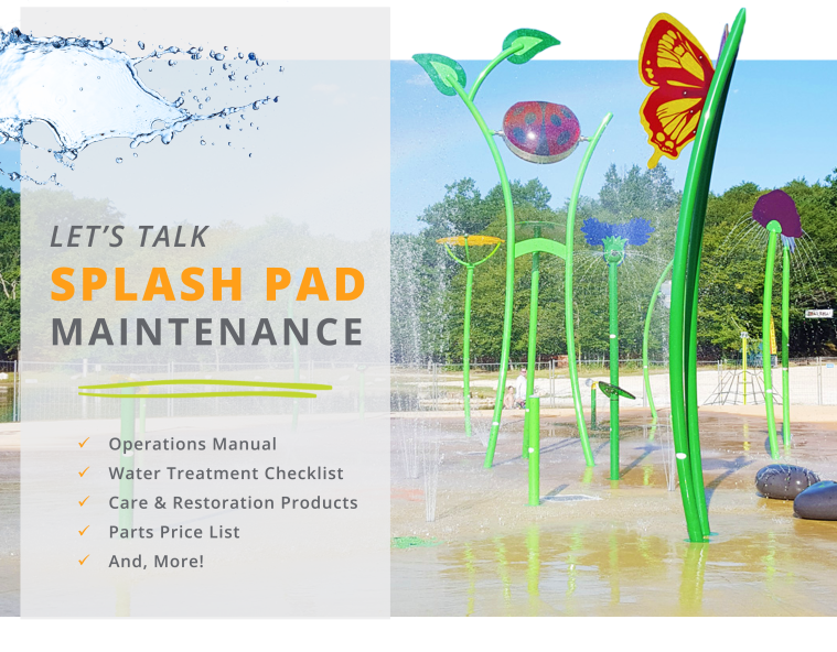 Splash Pad Maintenance - Header